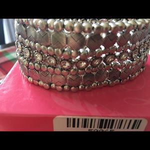 Premier Designs silver bracelet NIB